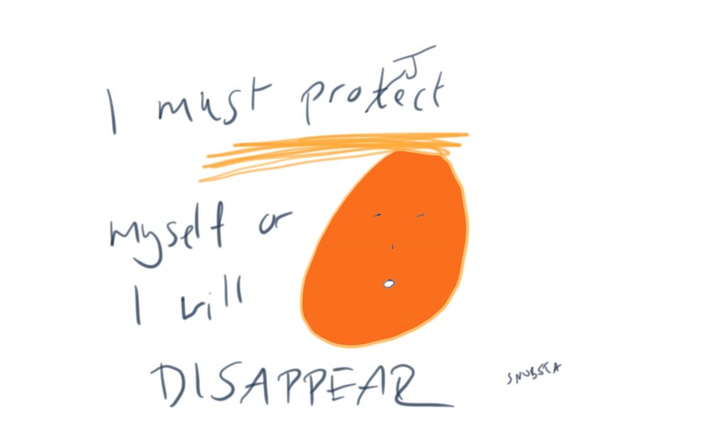 Or I will disappear