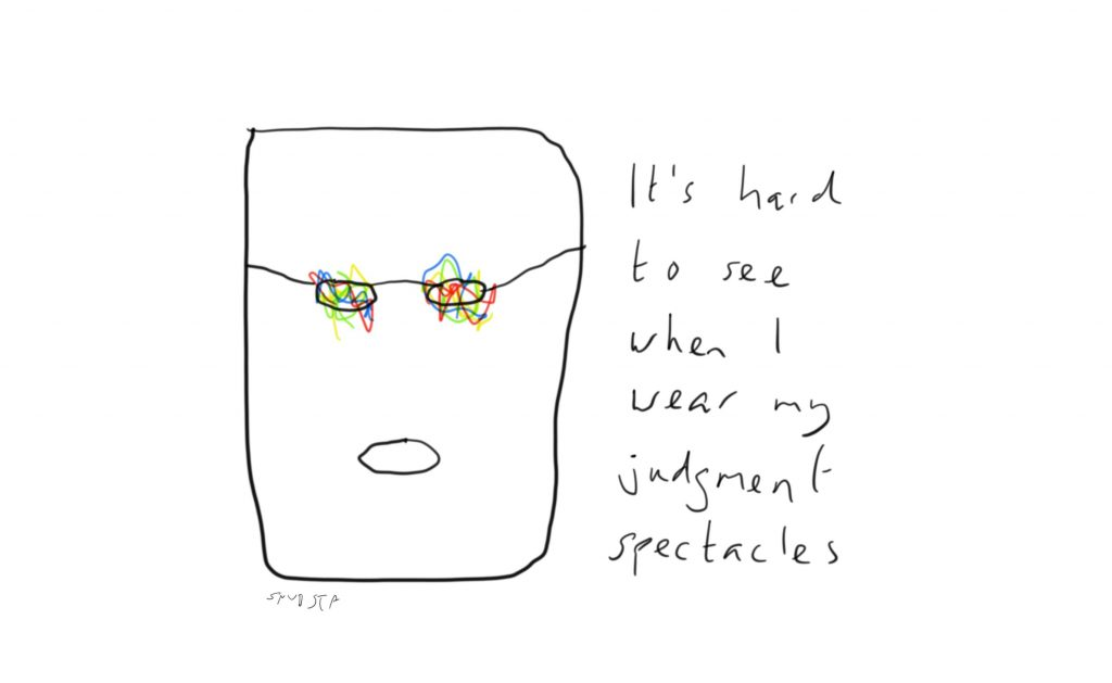 Judgment spectacles
