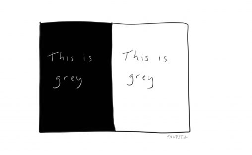 This is grey