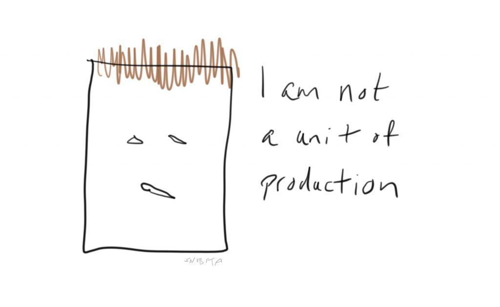 Unit of production